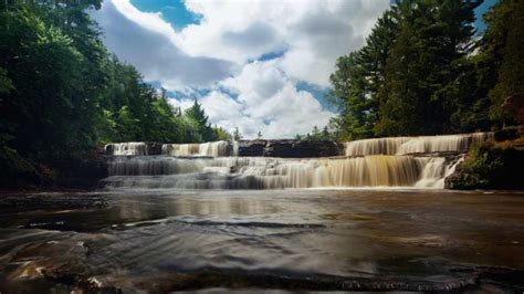 Tahquamenon Falls State Park Cabins by Tahquamenon Falls State Park Michigan