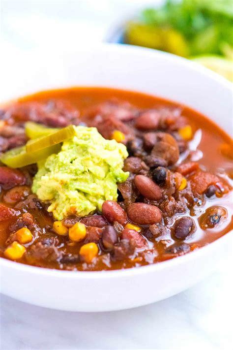 utterly delicious chipotle bean chili recipe