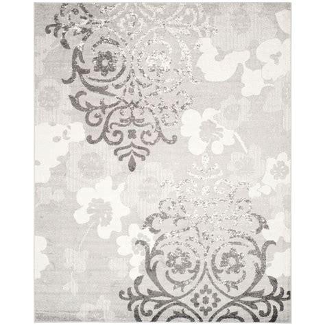 10 ft area rugs safavieh evoke grey ivory 10 ft x 14 ft area rug evk256d