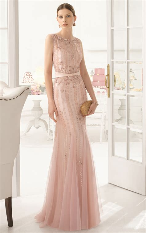 blush gown dressed up