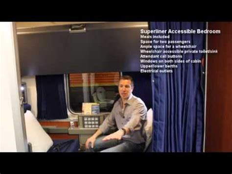 superliner accessible bedroom amtrak superliner accessible bedroom youtube