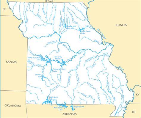 missouri map with rivers summer float trips in missouri future expat
