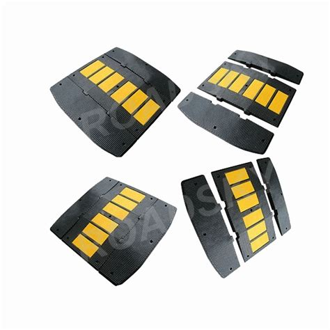 Rubber Speed Bump With Cat rubber speed bumps humps roadsky traffic safety