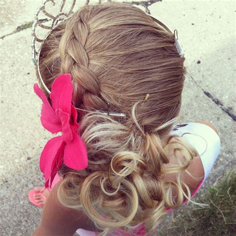 easy hairstyles for dances simple updo for your little girl beauty pinterest