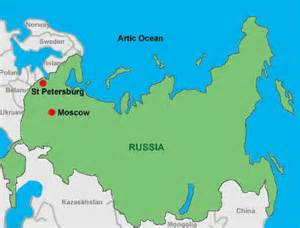 Moscow On World Map by Russia Map Quiz At Central Washington University Studyblue