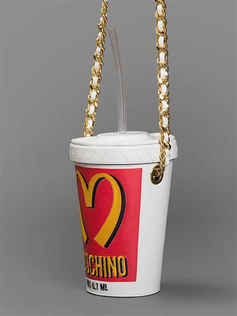 Join The With This Milkshake Shoulder Bag by Moschino Milk Shake Leather White Shoulder Bag