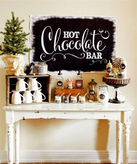 coffee bar toppings hot chocolate bar with recipe and toppings winter pen n