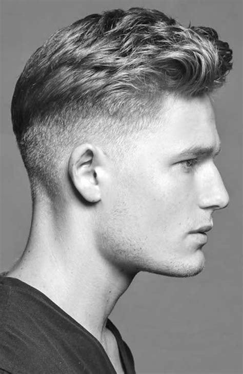Short On The Side Hair Cuts | cool guy s haircuts with short sides mens hairstyles 2018