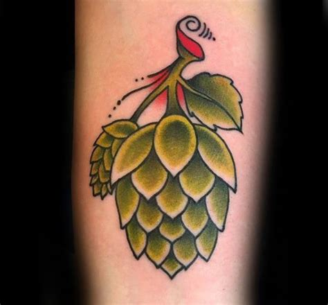 hops tattoo 60 designs for hops ink ideas