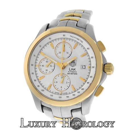 K Link K Ewrist Band 48mm Yellow s tag heuer link cjf2150 bb0590 steel 18k gold automatic chronograph ebay
