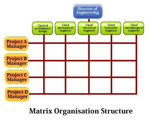 matrix structure diagram value michel baudin s