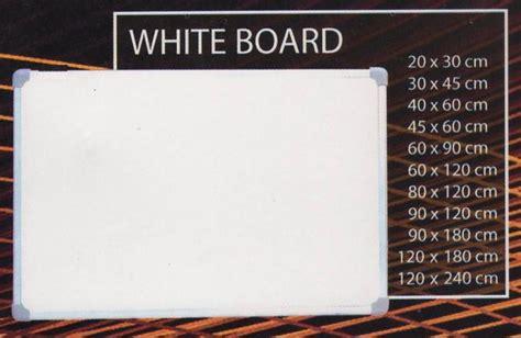 Harga Sho Sunsilk Ukuran Besar whiteboard papan tulis gantung single