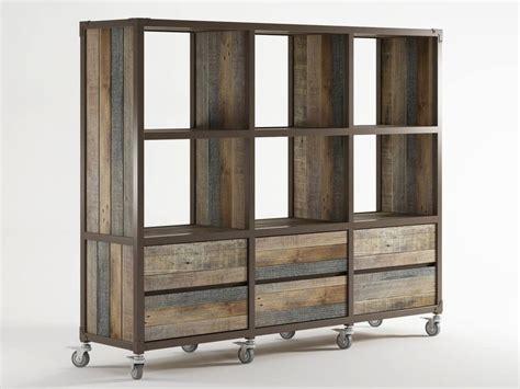 librerie con cassetti libreria in legno con cassetti su ruote ak 14 libreria