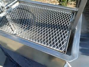 metal grill grates drop in unit with firebox santa bbq pit grill 100