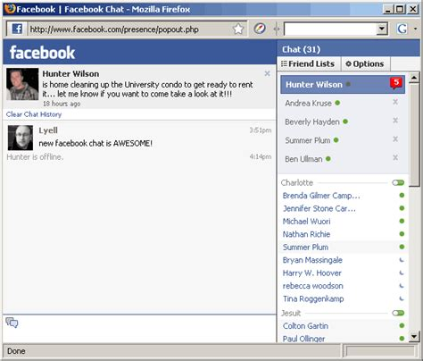 fb chat facebook support chat website