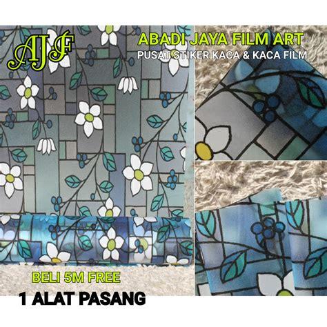 Stickerstiker Kacastiker Kaca Motif 1 jual stiker kaca sticker kaca stiker sandblast kaca