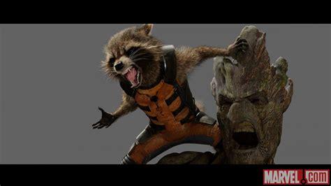 marvel film with raccoon marvel studios