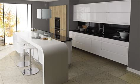 gloss kitchens ideas remo gloss white contemporary kitchen