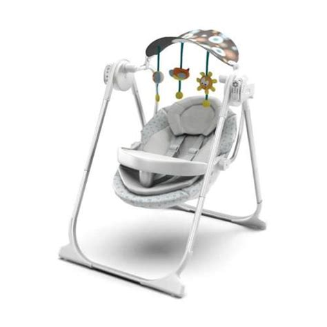swinging chair baby baby swing chair 3d model obj