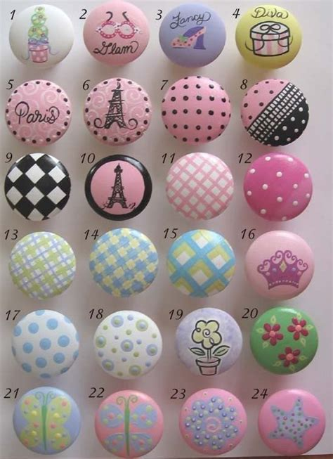 100 best images about painted drawer knobs on