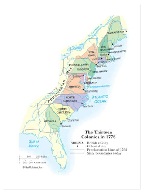 map us colonies 1776 smart exchange usa the thirteen colonies in 1776
