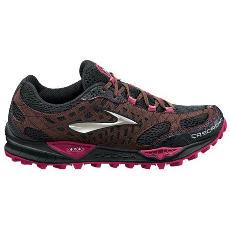 black trail running shoes cascadia 7 trail running shoes black shoppingbag cerise