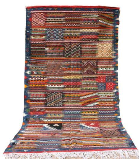 teppich blau türkis blau roter teppich 150x250 streifen rauten muster