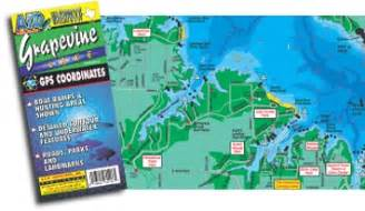 where is grapevine on map grapevine lake fishing map