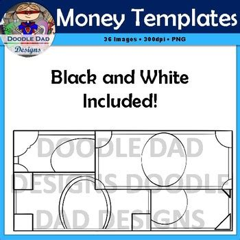 customizable money template money template clip customizable currency finance