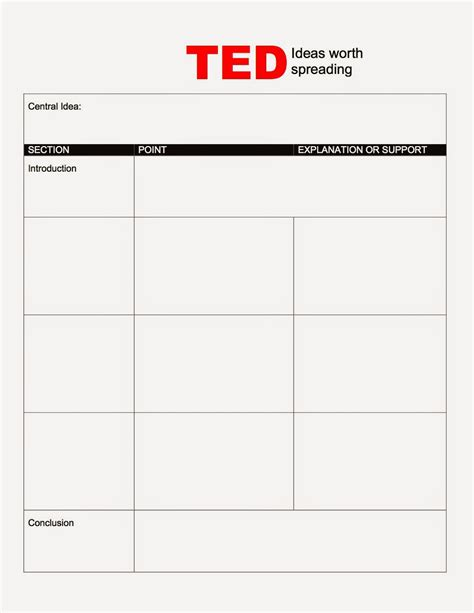 Read Write Inspire December 2014 Ted Talk Presentation Template