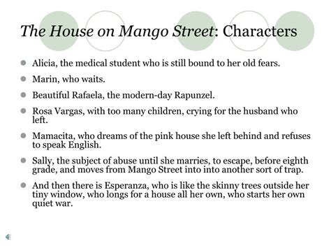 house on mango street identity theme ppt sandra cisneros powerpoint presentation id 323701