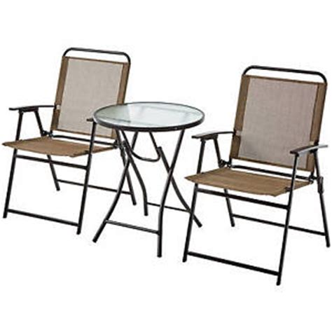 Patio Chair Set Of 2 Set Of 2 Outdoor Folding Sling Chair Patio Furniture Porch Seat Assorted Color Ebay
