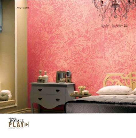 Living Room Paint Effects Asian Paints Royale Play Special Effect Asian Paints