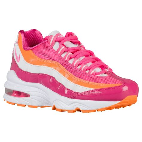 nike running shoes nike air max 95 le pink pink