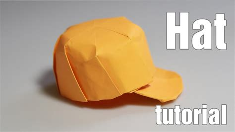 How To Make A Paper Baseball Cap - paper hat origami snapback tutorial diy henry phạm