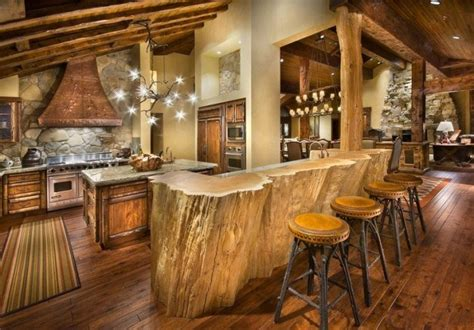 rustic cabin kitchen layout pictures best home 20 beautiful rustic kitchen designs