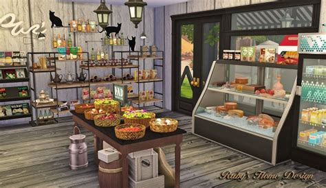 4 home design store ruby s home design deli grocery store sims 4 downloads