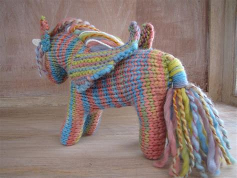 knitting pattern unicorn you have to see unicorn pegasus pattern on craftsy