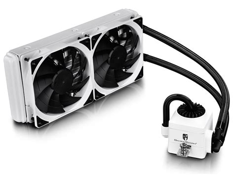 Deepcool Captain 240 Ex Liquid Cooler Unggulan captain 240 ex white deepcool gamer