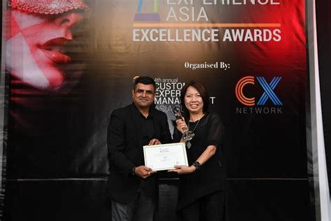 awards singtel 2016 excellence in customer experience awards winners