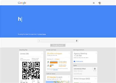 new design google homepage a bold new redesign concept for the google homepage
