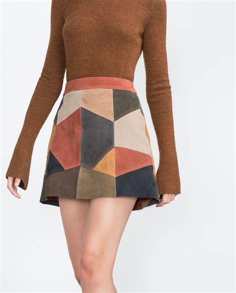 patchwork skirt skirts trf zara states zara patchwork skirt skirts trf zara states zara