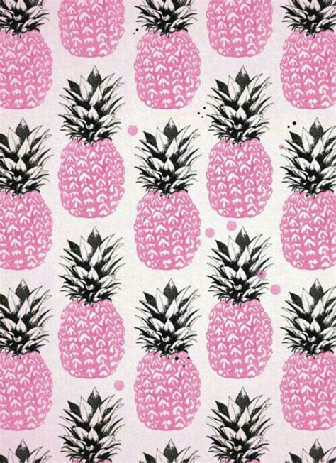 wallpaper pineapple pink background backgrounds pineapple pink pretty
