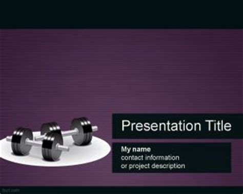 Fitness Powerpoint Template Fitness Powerpoint Presentation Templates