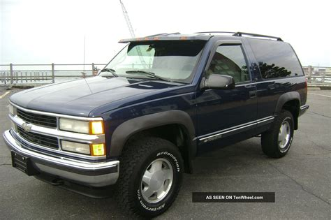 1999 2 Door Tahoe by 1999 Chevy Tahoe 2 Door Html Autos Weblog