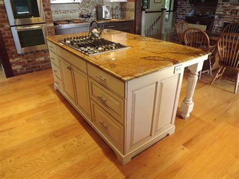 how to install kitchen island cabinets paint glazed kitchen island traditional kitchen
