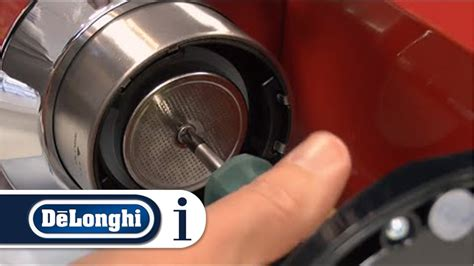 delonghi espresso cleaning how to clean the coffee outlet of your de longhi pump