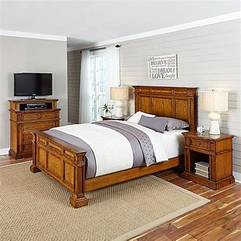 americana bedroom home styles americana 4 piece bedroom set bed bath beyond