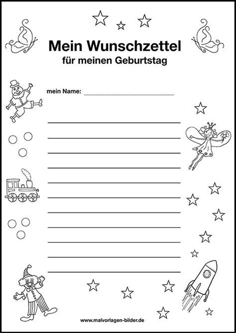 Vorlage Wunschzettel Word Wunschzettel Vorlage Zum Geburtstag Zum Ausdrucken