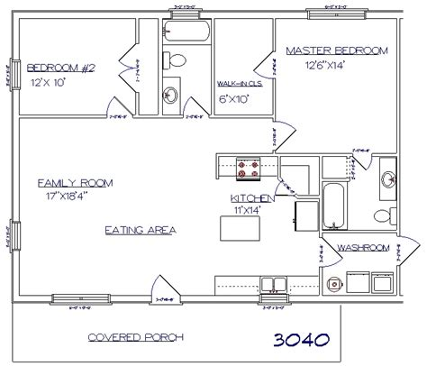 30x40 house floor plans tri county builders pictures and plans tri county